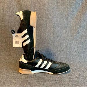 Adidas Men's Indoor Soccer Shoes Black & White